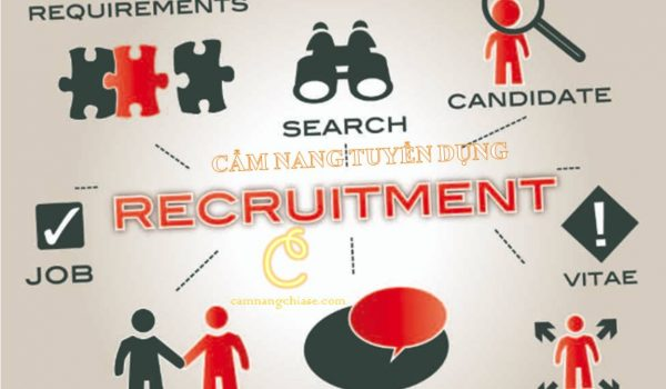Cẩm nang tuyển dụng và 8 bước tuyển dụng nhân sự