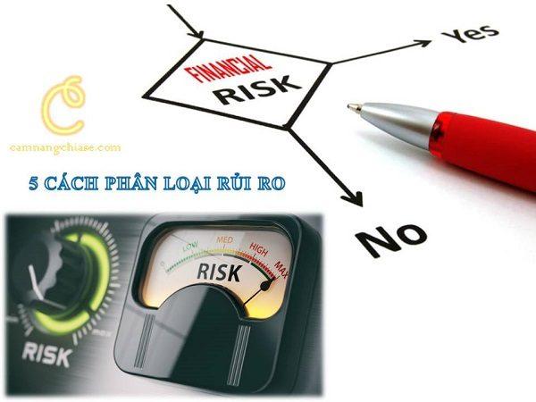 5 Cách phân loại rủi ro giúp bạn dễ nhận biết nhất