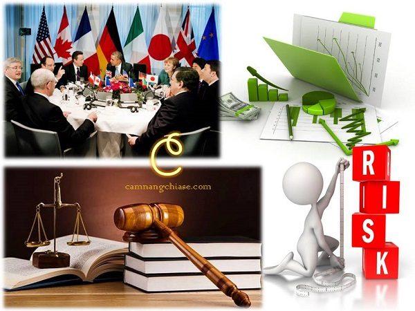 Rủi ro về chính trị - luật pháp - kinh tế