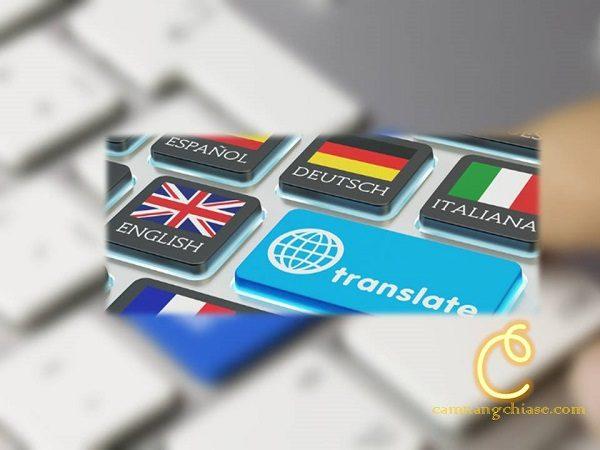 Dịch thuật online tại nhà