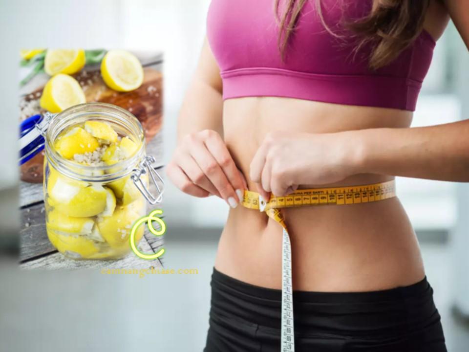 Cách pha nước chanh muối uống giảm cân